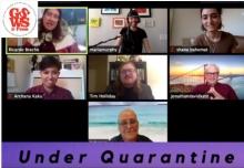 Screen shot of Under Quarantine